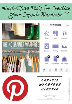 Must-have tools for creating your own capsule wardrobe!