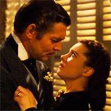 Lo que el viento películas animadas Clark Gable Vivien Leigh