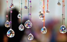Feng Shui of Faceted Window Crystals: Feng shui crystals are used for a variety of purposes. You can hang a feng shui crystal sphere in a sunny window to attract auspicious energy, or use it as a feng shui cure to dispel negative feng shui energy in a dark corner or a long hallway.