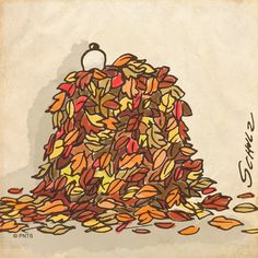 #Snoopy #Autumn #Leaves
