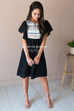 New Arrivals, Modest Dresses, Vintage Dresses, Church Dresses and Modest Clothing - Neesee's Dresses Church Dresses, Modest Dresses, Modest Outfits, Modest Fashion, Cute Dresses, Vintage Dresses, Fashion Outfits, Modest Clothing, Prom Dresses