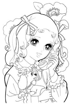 free coloring pages japanese girls - photo#28