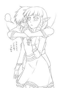 Link x Zelda. une de mes préférées ! ;D