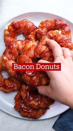 Fun Baking Recipes, Bacon Recipes, Brunch Recipes, Appetizer Recipes, Breakfast Recipes, Cooking Recipes, Appetizers, Tastemade Recipes, Köstliche Desserts