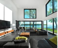 Bord du Lac House by Henri Cleinge in archit    Bord-du-Lac House, Henri Cleinage.