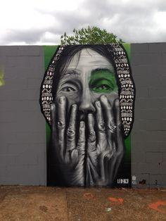 Graffiti by: LeoDco e Alma Limeira, São Paulo, Brasil