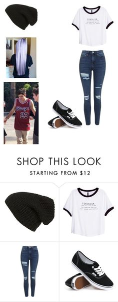 """""""W/Nate Maloley"""" by mell-rosee ❤ liked on Polyvore featuring Phase 3, H&M, Topshop and Vans"""