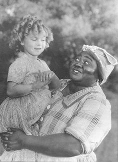 Shirley Temple and Hattie McDaniel in The Little Colonel, 1935.