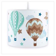 Heißluftballons Boys taupe/mint: Dinki-Balloon