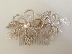 Crystal Bridal Side Wedding Hair Comb - Gold. Crystal Bridal Side Wedding Hair Comb - Gold on Tradesy Weddings (formerly Recycled Bride), the world's largest wedding marketplace. Price $45.00...Could You Get it For Less? Click Now to Find Out!