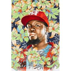 Kehinde Wiley B 197 Algorna Study I Picture on VisualizeUs
