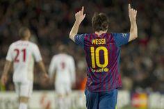 Messi entra en la leyenda de la Champions, ¡¡cinco goles al Leverkusen!!