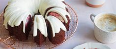 This red velvet bundt stunner reveals a cream cheese swirl when cut open for a dessert that tastes as decadent as it looks.