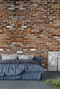 Brick wall Wall Mural - Wallpaper