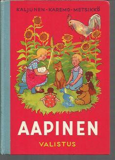 Aapinen, Kaljunen Aatto-Karemo Britta-Metsikkö Taimi 1967 Vintage School, Old Books, Cute Characters, Ancient History, Finland, Of My Life, Nostalgia, Miniature, Childhood
