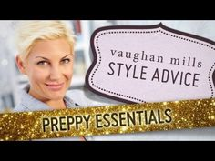 Check out our latest style advice series for Vaughan Mills - Preppy Essentials