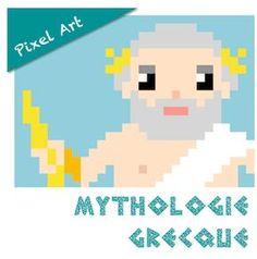 Pixel Art : Mythologie grecque