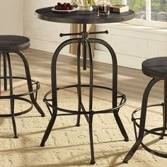Modway Sylvan Pub Table & Reviews | Wayfair - this is kind of what I had in mind for the pub table