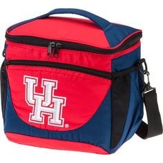 Logo™ University of Houston 24-Can Cooler (Red, Size ) - NCAA Licensed Product, NCAA Novelty at Academy Sports