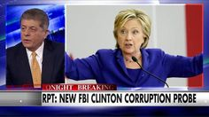 "The FBI investigation into Hillary Clinton's use of private email as secretary of state has reportedly unearthed a ""treasure trove"" of financial improprieties related to the Clinton Foundation, Judge Andrew Napolitano said on ""The Kelly File"" tonight..."