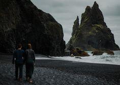 Heiðdís and Styrmir // Vik and Skogafoss - Iceland photographer. - Scotland Wedding Photographer | The Kitcheners
