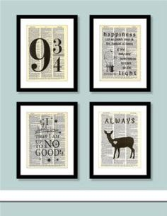 Harry Potter Decor- what a great way to add some magic to your home!