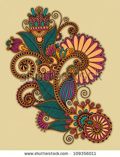 Find Flower Circle Design On Grunge Background stock images in HD and millions of other royalty-free stock photos, illustrations and vectors in the Shutterstock collection. Mandala Art, Mandala Drawing, Mandala Design, Drawing Flowers, Doodle Designs, Designs To Draw, Zentangle, Line Art, Paisley Art