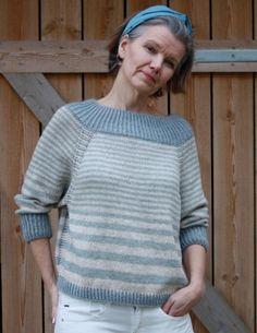 Garnpakke til STRIPET Må ha genserDet går i striper for tiden hos meg. Denne STRIPET Må ha genseren strikker du i Sandnes Line, og med Isager Silk Mohair på vrangbordene. En deilig genser for vår og sommerdagene. Den lange vrangborden til halsen gjør genseren ekstra fiffig.Veiledne pinnestørrelse 4.5 mmGenseren er one size i lengde og brystvidde. Ca 51 cm lang og ca 114 cm i brystvidde. Det er nok garn til å strikke den noe lengre om du ønsker det. STRIPET Må ha genser, har ...