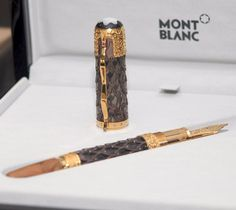 Montblanc Genghis Khan Fountain Pen Yellow Gold Limited Edition 88 SEALED | eBay Genghis Khan, Luxury Pens, Fine Pens, Fountain Pen Ink, Rollerball Pen, Writing Instruments, Ballpoint Pen, Penne, Gold