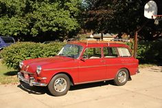 1966 VW Type III Squareback.
