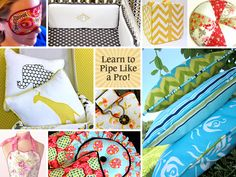 How to Make and Attach Piping For Pillows & More