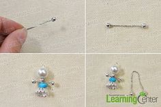 Wire Wrapped Jewelry Ideas-How to Make Adorable Wire Wrapped Silver Fairy Pendant Necklace 2