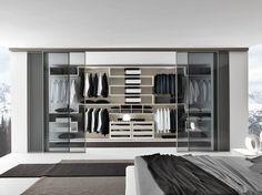 Armario vestidor de estilo moderno VARIUS by Presotto Industrie Mobili | diseño Tormena-neadesign