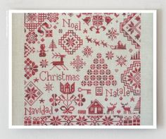 Quaker de Noel counted cross stitch patterns by thecottageneedle, $13.00