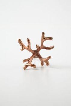 Coral Branch Knob from Anthropologie William Blake, Dresser Drawer Knobs, Cabinet Knobs, Copper Interior, Hawaiian Homes, Home Hardware, Anthropologie, Creative, Gifts