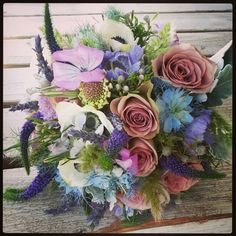 Bridal bouquet by Fleurt Floral Art ♡