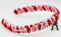 Make Time 2 Craft: Woven Ribbon Headband with a Twist Video Tutorial