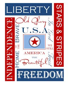{Free Printables} - 4th of July