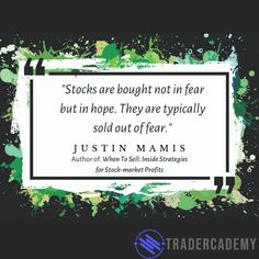 An excellent quote about trader psychology. Many of the actions undertaken by novice traders and motivated by emotions. Excellence Quotes, Daily Quotes, Stock Market, Psychology, Motivational Quotes, Author, Things To Sell, Daily Qoutes, Psicologia