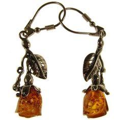 Orecchini donna in ambra naturale baltica e argento 925 | eBay
