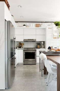 Kitchens can get disorganized pretty easily. In any small space like cabinets, It's about making sure this small storage is its most efficient so your space is its most functional.