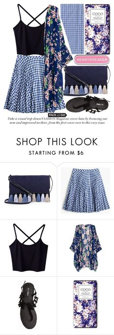 """""""LABOR DAY #packandgo"""" by noraaaaaaaaa ❤ liked on Polyvore featuring Rebecca Minkoff, J.Crew and Nly Shoes"""