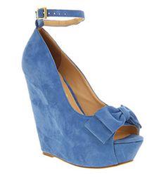 blue suede shoes....