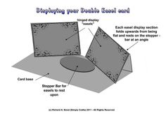 03 Double Easel Card Display Instructions