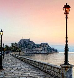 Sunday promenade at the bay of Corfu Island, Greece | by Stamatis Katapodis Photography