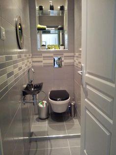 toilettes moderne design contemporain gris noir de charlottine design ...