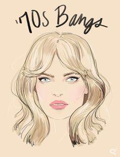 We're bringing 70s bangs back! http://bit.ly/1BBiWuZ