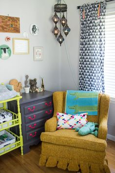 Colorful And Whimsical Gender Neutral Nursery