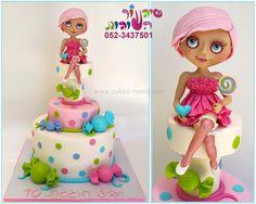 blythe doll candy cake by cakes-mania עוגת בובת בלית סוכריות מאת שיגעון העוגות - www.cakes-mania.com