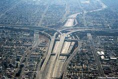 4. Judge Harry Pregerson Interchange, Los Angeles, California – The intersection of Interchange 105 and Interchange 110